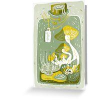 Mushroom Terrarium Greeting Card