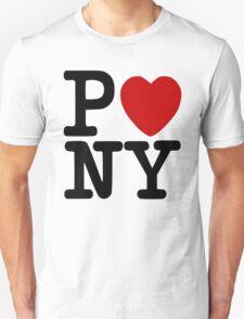 P<3NY - I Heart Pony T-Shirt