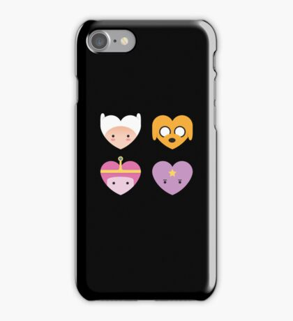 Adventure Hearts iPhone Case/Skin