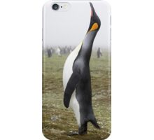 """King Penguin ~ """"The Trumpeter"""" iPhone Case/Skin"""