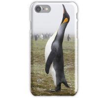 "King Penguin ~ ""The Trumpeter"" iPhone Case/Skin"