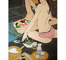 Sushi Man Photographic Print