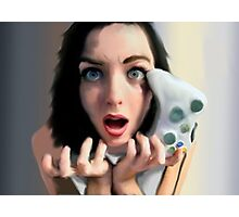 Girls Game Rage, Too Photographic Print