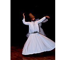 Whirling Dervish Photographic Print