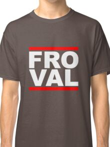 FRO VAL - White Design Classic T-Shirt