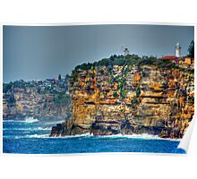 Behind the Lens ~ The Australian Coast Poster