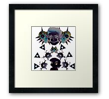 Legend of Zelda Invert  Framed Print