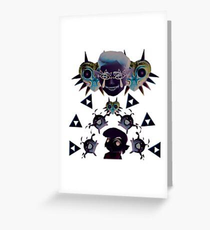 Legend of Zelda Invert  Greeting Card