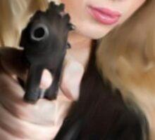 Girls With Guns Sticker