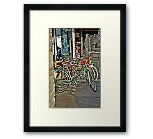 Bikes For Sale Framed Print