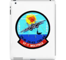 VF- 1 Wolfpack Deactivation Patch iPad Case/Skin