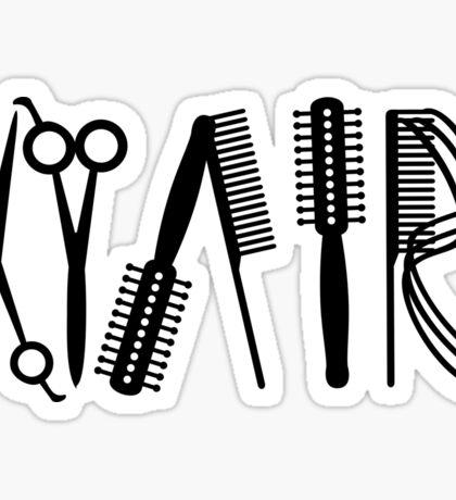 Hair VRS2 Sticker