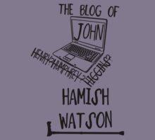 John H. Watson /on light colours/ Kids Tee