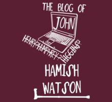 John H. Watson /on dark colours/ by SallySparrowFTW