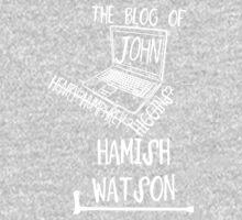 John H. Watson /on dark colours/ One Piece - Long Sleeve