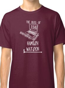 John H. Watson /on dark colours/ Classic T-Shirt