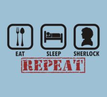Eat, Sleep, Sherlock, REPEAT! by jsbdesigns