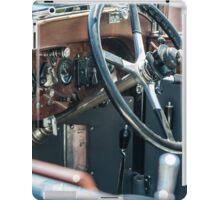 Vintage auto dash iPad Case/Skin