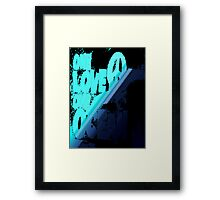 One love... Framed Print