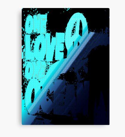 One love... Canvas Print