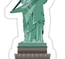 Liberty rocks Sticker