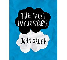 TFIOS Cover Photographic Print