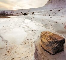 Travertines: Pamukkale, Turkey by thewaxmuseum