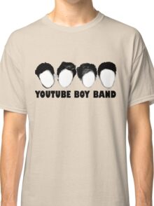 The YouTube Boy Band Classic T-Shirt