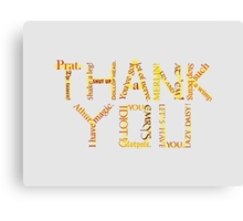 Merlin: Thank You Canvas Print