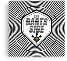 The Darts Side Canvas Print