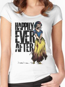 Happily Every After Women's Fitted Scoop T-Shirt