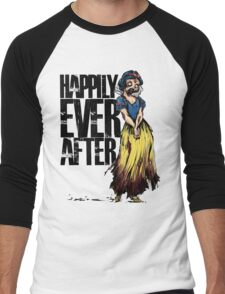 Happily Every After Men's Baseball ¾ T-Shirt