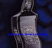 Jack Daniels Dali Style Surrealist, A3 by garethfrance