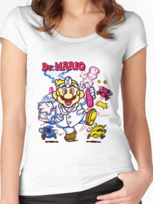 The Doctor is in the House Women's Fitted Scoop T-Shirt