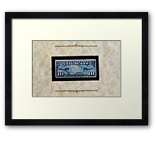 The Air Mail Series of 1926-27 - Framed Print
