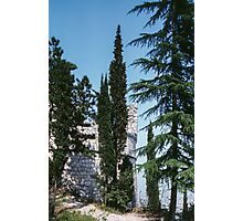 Le Bastion over the town Riva da Garda Italy 198404210024 Photographic Print