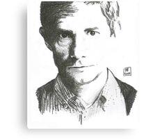 Hamish. John Hamish Watson. Canvas Print