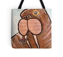 Sophisticated Walrus Tote Bag