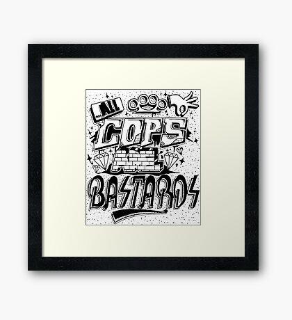 ACAB Framed Print