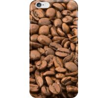 Roasted Arabica Coffee Beans - Brown  iPhone Case/Skin