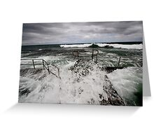 Rock pool - Austinmer Beach, NSW Greeting Card