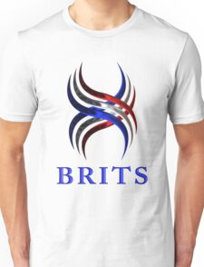 BRITS Designer Tees and Stickers Unisex T-Shirt