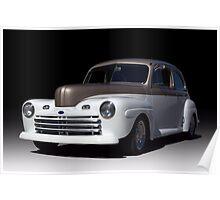 1946 Ford Sedan Street Rod Poster