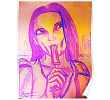 'BRAIN FREEZE' *POPSICLE-SERIES* Poster