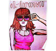 'D. BROWN'  Poster