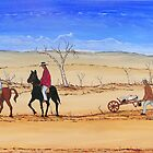 """""""The Barrow Man"""" Original Acrylic Painting; FOR SALE by EJCairns"""