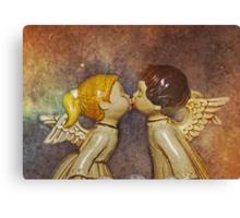 Angels Kiss Canvas Print