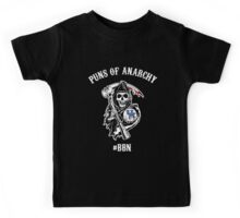 Puns of Anarchy Light Kids Tee