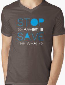 Stop Seaworld Mens V-Neck T-Shirt
