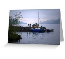 Looking for Nessie Greeting Card